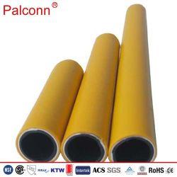 黄色く黒いバット溶接As4176のPEのAlのPEのガス管