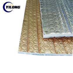 Ecofoil thermique aluminium réfléchissant PEE Bulle de caoutchouc mousse Feuille Feuille de matériau d'isolation du toit