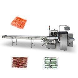Automatisches Biskuit-sofortige Nudel-Kartoffelchip-automatisches horizontales/Kissen/Fluss zweitens/Gruppe/multi Satz-Verpacken/Verpackung/Verpackung/Dichtung/Beutel-Maschine