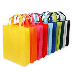 Commerce de gros case non tissé sac fourre-tout sac shopping promotionnel sac réutilisable