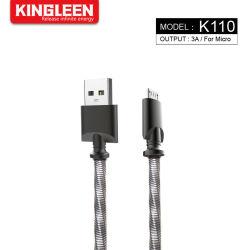 gegevens Sync van de Hoge snelheid van de Last van de Kabel van de Lader USB van 1m de Mechanische Metaal Gevlechte Snelle