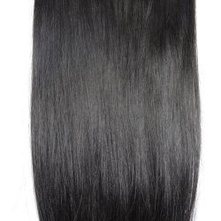 120 غ 26 بوصة آلة صنع الشعر ريمي 8 قطع فيديو كليب في 100% من الشعر البشري تمديدات الشعر الكامل مجموعة الرأس الطبيعية مستقيم الشعر