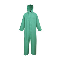 En471 Зеленый Coverall Workwear Impermeables безопасности