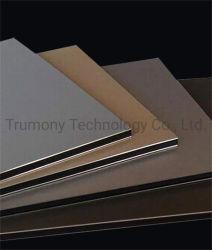 zusammengesetzte Panel-Aluminiumplatte 3mm 4mm kontinuierliche PET PVDF Beschichtung ACP-Acm für im Freiengebäude-Wand-Umhüllung-Dekoration