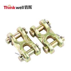 Liga de aço forjado Galvanized Twin Link da Forquilha