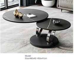 Meilleure vente Haut de faisceau de Rock Nouveau Modèle de table à café Hôtel fonction Enregistrer l'espace table latérale