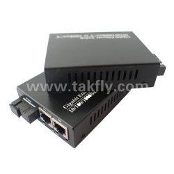 Faser-Media-Konverter des Realtek Chip-10/100m einzelner mit 2 Kanälen Sc20km