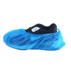 Desechables caliente automático antideslizamiento PE/CPE desechables cubrezapatos