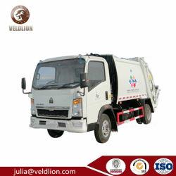 4X2 LHD/Rhdのごみ収集車2 3 4 5 6 7 8 9 10 12 M3 CBMのコンパクターの無駄のコレクターによって圧縮される屑のトラック