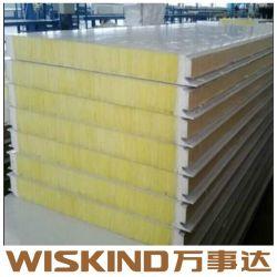 SGS materiale da costruzione lana di vetro pannello per prefabbricati