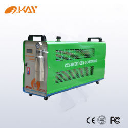 Máquina de solda em alumínio prateado brasagem Gerador Hho Soldadura do tubo de cobre