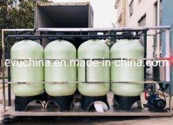 10m3/hora-1000m3/Hora de extracción de hierro Los filtros de agua para la extracción de manganeso, hierro