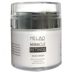 Etiqueta Privada OEM naturales Anti Envejecimiento y mejor Anti Wrinkle Retinol crema humectante para el rostro y cuello 50 ml
