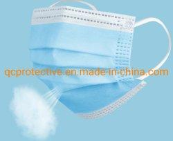 3 ply não tecidos Civil descartáveis máscara facial de cuidados da pele e impermeável e à prova de pó
