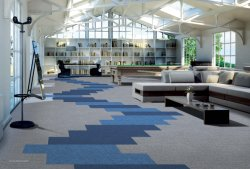 Mosaico de alfombras de nylon con PVC respaldo comercial/Hotel/modelo Pantone II 22109s