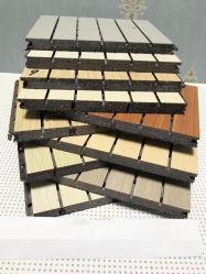 Buwei декоративные деревянные Композитный пластик поглощение звука панели стены здания оформление материалов