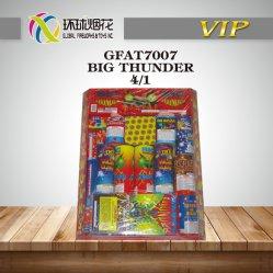 Consumer Fireworks Rockets esterno di tuono di tuono 1.4G di Gfat7007-Big del re Assorted