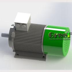 20 كيلووات 220 فولت، 380 فولت، مخصص، منخفض السرعة، عالية الكفاءة 3 طور تيار متردد مولد مغناطيس دائم للتوربين الريحية للهيدروسترو المشروع