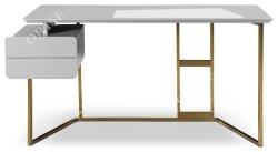 2019 Últimas MDF escrito Desk para Studyroom Metal