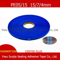중심 접착제 이동할 수 있는 테이프, 아크릴 접착제 지구, 각자 스티키 테이프, 파란 필름 (15/4/7mm)를 가진 부대 밀봉 테이프