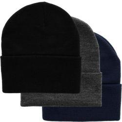100%Mujer Hombre acrílico tejido Wamr personalizado en blanco invierno Beanie Hat