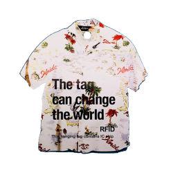 860-970MHz HY-9634 Higgs 3 La technologie RFID UHF pendre l'étiquette de vêtements en PVC