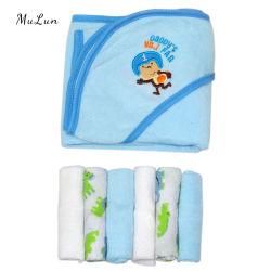 Sneldrogend 100% katoen Baby Gift badhanddoek met capuchon / Zachte Baby Bamboo Hooded handdoek deken Bat