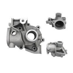 Carcasa de aleación de aluminio de fundición de la inversión de los componentes de la bomba de cuerpo de válvula