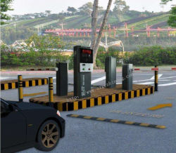 Sistema de aparcamiento dispensador de billetes de la máquina para estacionamiento