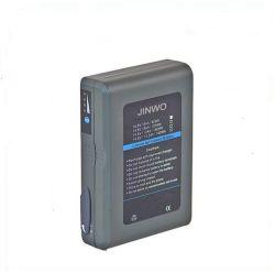 Gouden zet het Uitzenden 6600mAh van de Batterij 95wh 14.8V van de Uitzending van het Type de Li-IonenVervanging van de Uitzending van Camcorder van de Batterij van de Videocamera op