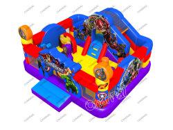 Los niños Spiderman aire inflable castillo saltar con la diapositiva para el precio de venta de sino hinchables