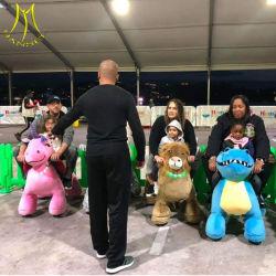 Hansel animal en peluche manèges motorisé Coin exploité kiddie ride Machine de jeu
