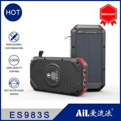 شاحن محمول للطاقة الشمسية 300 مل أمبير/ساعة مقاوم للمياه مع RoHS من CE FCC