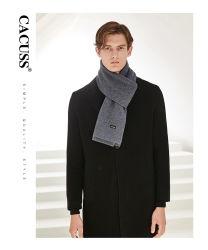 Высокое качество Man 100%шерсть кашемира одеяло из зимы Без шарфа 4