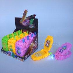 Juguete de teléfono móvil con el caramelo en los juguetes con Candy Candy juguete China