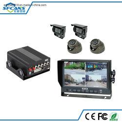 Carro de táxi a gestão da frota de caminhões de ônibus 4G câmara CCTV GPS Rastreamento móvel de segurança gravador DVR