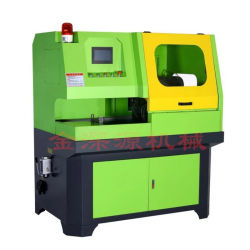 Il tubo automatico automatico pieno del metallo di CNC della tagliatrice del tubo d'alimentazione di CNC taglio a freddo ha veduto il tubo di CNC della macchina tagliare la segatrice
