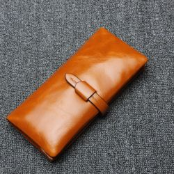 Nuovi raccoglitori della borsa delle donne del cuoio genuino di disegno