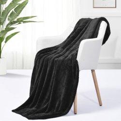 Ultra suaves mantas de lana y lanzan la trama tejida multicolor