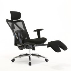 Footrestの中国Manufacturer Mesh Office Furniture ESD Cleanroom Chair