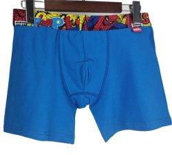 Personalizar las Prendas de Vestir Hombre hombres algodón Spandex Seamless Boxer Shorts ropa interior de rendimiento de la marca del grupo