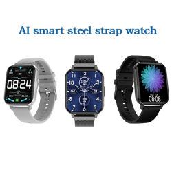 팔찌 Bluetooth 지능적인 전화 Smartphone 다기능 시계 HD 접촉 스크린 강철 밴드 또는 테이프 이동 전화 Smartwatch