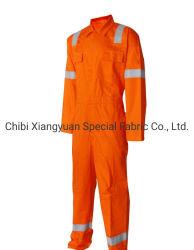 Protección de seguridad ignífugo ignífugo Workwear mono con rayas