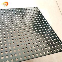 사용자 정의 크기 천공 원형 구멍 솔리드 알루미늄 시트