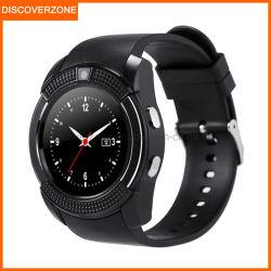 Intelligentes Uhrv8-Benutzerhandbuch-Armbanduhr-Telefon mit Einbauschlitz-wasserdichtem IOS der Kamera-SIM