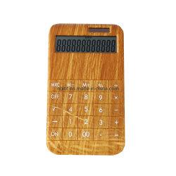 Nuevo estilo de la pantalla LCD de 12 dígitos Función estándar Calculadora Dual Power