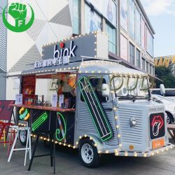 Haute qualité panier alimentaire de crème glacée Hot Dog Food fast-food Mobile électrique de remorque chariot