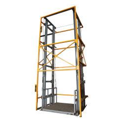 Qiyun CE ISO 4m 6m 8m 10 m 1000 kg 2000kg 3000kg 電気油圧貨物リフト貨物エレベーター倉庫貨物リフト