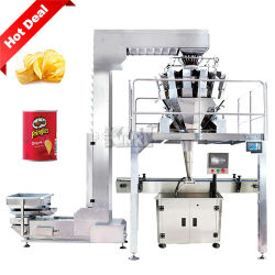 Pesatrice multitesta automatica granulo di particelle riempimento di bottiglie di alimenti confezionamento Macchina per capsule/popcorn/caramelle/spuntini/chip/noci/caffè
