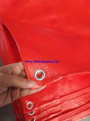 Orangefarbene PE-Tarpaulin 100% Neu Blaugrün PE-Zelt PE Planen